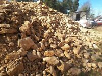 Rockery limestone. Garden landscaping stone all sizes and quantity. For walls landscaping etc