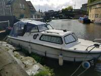Norman 20ft Fibreglass Cabin Cruiser Canal/River Boat