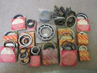 Large quantity of original JCB seals rings and parts by JCB service ltd