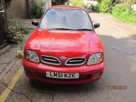 Nissan Micra Vibe. Low mileage