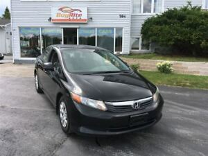2012 Honda Civic LX AC, cruise,AUTO Bluetooth!