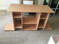 LARGE TV STAND / STEREO ENTERTAINMENT UNIT - ONLY - £15