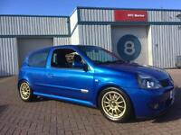 Clio cup 172 182, with nice upgrades.