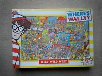 Brand New Sealed Where's Wally Wild Wild West Puzzle 1000 Pieces