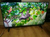 Panasonic 48 Inches 4K UHD 3D Smart LED TV Freeview HD WiFi