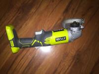Ryobi Cordless Angle Grinder . Battery and charger included.
