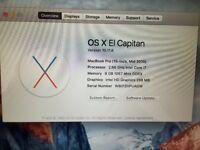 15 Inch i7 Macbook £450