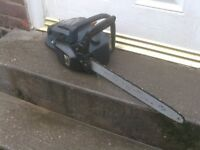 PETROL CHAINSAW NEEDS PRIME BUBBLE £35