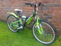 Childs 24inch wheel mountain bike