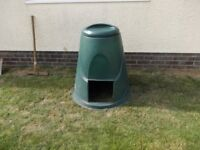 Large Green Compost Bin with Lid~ Can deliver free in Exeter / Topsham area.