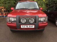 RANGE ROVER DHSE AUTOMATIC LOW MILEAGE 1998 P38 FULLY LOADED.