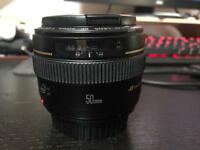 Canon 50mm 1.4 EF