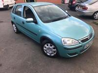 2004/04 VAUXHALL CORSA 1.2 LIFE LOW MILEAGE MOT SEPT IDEAL FIRST CAR