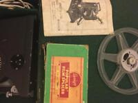 Vintage specto projector 📽 still in original case with spook and manual