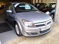 VAXUHALL ASTRA DESIGN CDTI 12 MONTH MOT (FSH) 6 MONTH WARRANTY,£130 ROAD TAX