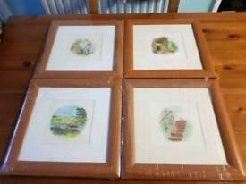 4 Winnie the pooh prints