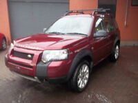 2005 05 FREELANDER 5 DOOR LIMITED EDITION IMMACUALTE 2017 MOT UPGRADED ALLOYS LEATHER £1995