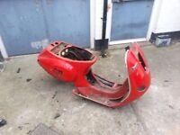 vespa piaggio et4 125cc frame replacement part
