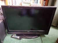 Technika 26 inch flat tv. Good working condition.For sale as replaced with a larger tv
