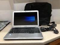 "Samsung Laptop 15.6"" with Charger & Bag"