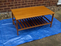 Retro Vintage 70's COFFEE TABLE (Tea Cup Drink Side Cake) #FREE LOCAL DELIVERY#