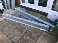 Galvanised steel lintel 2100mm