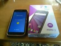 Moto 4g mobile phone