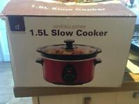 Andrew James 1.5l slow cooker