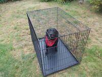 """extra large dog cage 42"""" x 31"""" x 28"""""""