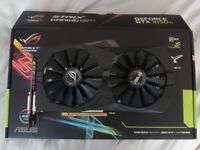 ASUS ROG Strix Nvidia GTX 1050Ti OC 4GB GDDR5 - Great Condition