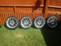 "18"" wheels to fit Audi,seat,skoda,vw,Chrysler"