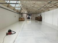 Warehouse space Leyton E10 + Studios of various sizes available now, creatives wanted