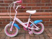 Girl Dawes Lotttie Bike 12 inch wheels (kids cycle) 3-5y