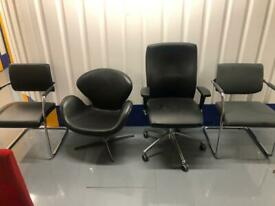 Office chairs (job lot)