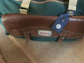 ANTLER TRAVEL BAG.