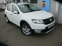 DACIA SANDERO 1.5 STEPWAY AMBIANCE DCI 5d **FULL SERVICE HISTOR (white) 2014