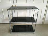 Glass Media/Tv Stand