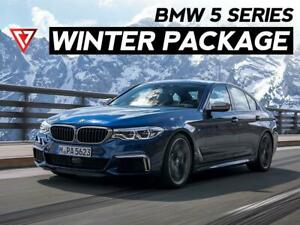 2019 - 2020 BMW 5 Series Winter Tire & Wheel Package  - T1 MOTORSPORTS Ontario Preview