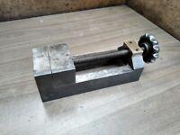 Precision Drill Press Vice. Jaw width 7 cm. Max. jaw opening 11 cm