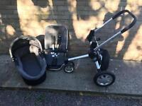 Quincy Buzz Travel System Lightly Used
