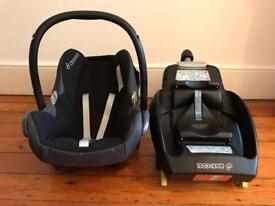 Maxi-Cosi car seat and EasyFix