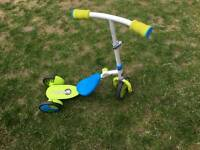 Childs Scooter to Bike