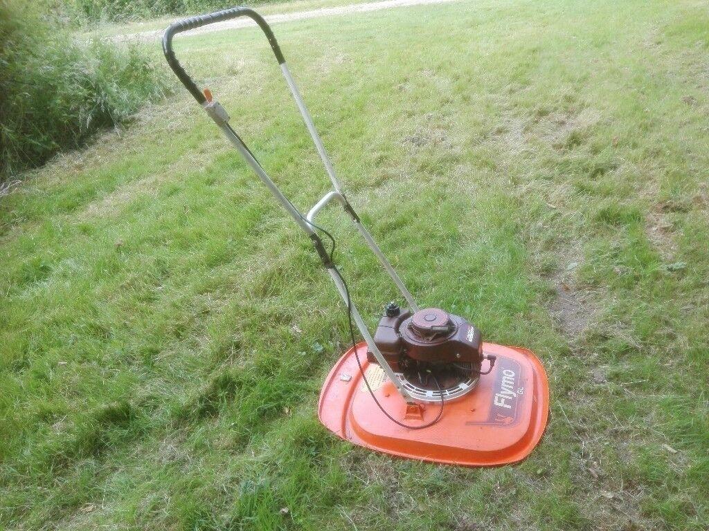 large petrol hover mower flymo serviced in dartford. Black Bedroom Furniture Sets. Home Design Ideas