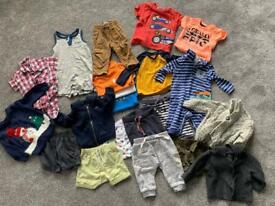21 items - 3-6 month boys clothes bundle
