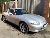 Breaking: Mazda MX5 2003 iS Sport 1.8 MK2.5 NB Sunlight Silver / leather / LSD / hard top / mohair