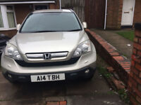 (2007)HONDA CR-V, 2.2CC, SILVER, TAX & MOT SEPTEMBER 2018