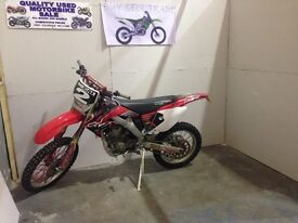 Honda crf 250cc road legal motocross enduro on road ready to ride not ktm Cr yz kx 125cc 450cc