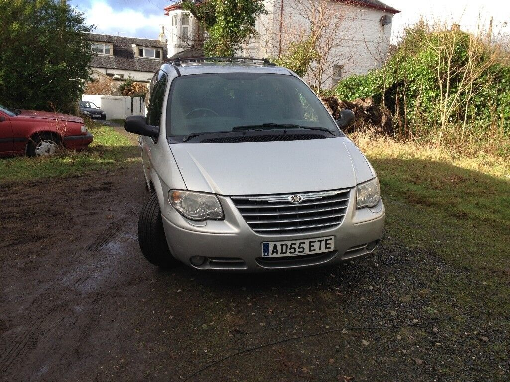 SILVER METALLIC GRAND VOYAGER LIMITED EDITIONXS 7 SEATER DIESEL 2.8 CRD AUTO USUAL EXTRAS+STOW & GO