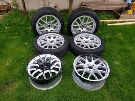 Diamond Inception wheels set of 6