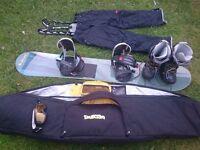 Snowboarding bundle